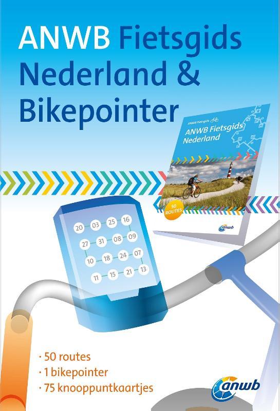Unknown - ANWB Fietsgids Nederland & Bikepointer 50 routes - 1 bikepointer - 75 knooppuntkaartjes