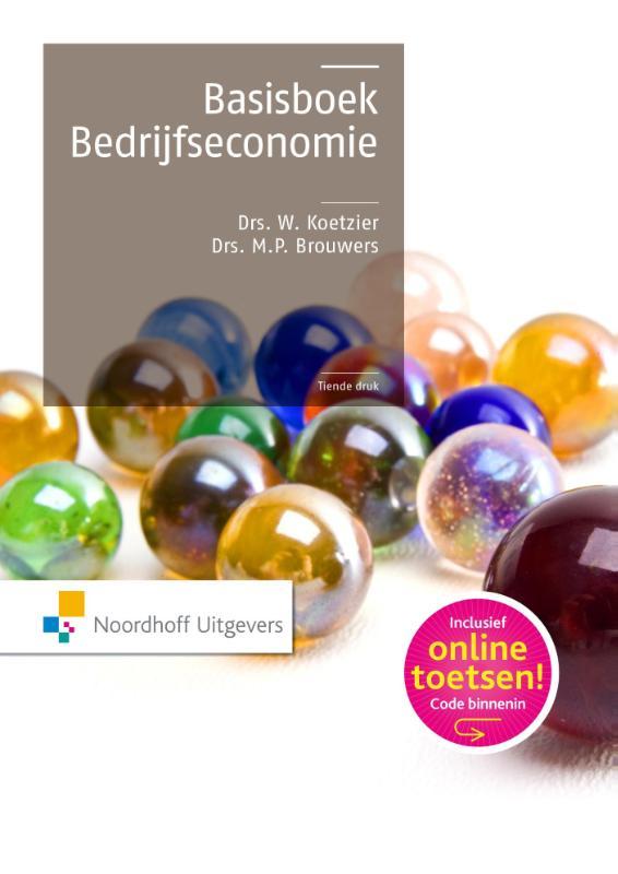Wim Koetzier, W. Koetzier, Rien Brouwers - Basisboek bedrijfseconomie
