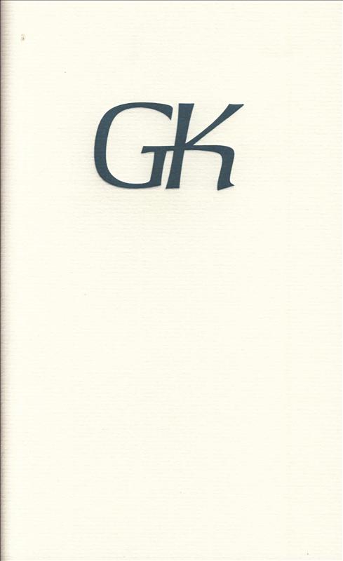 GK Gedichten voor Gerrit Ko...