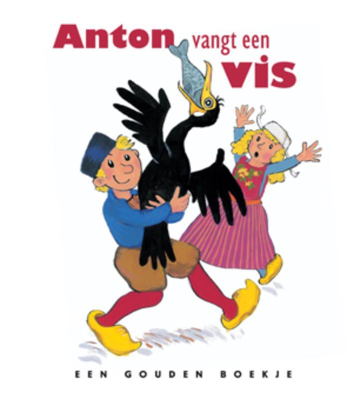 Steenhuis - Anton vangt een vis