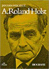 J. van der Vegt - A. Roland Holst Biografie
