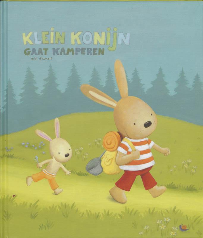 G. Segers - Klein konijn gaat kamperen