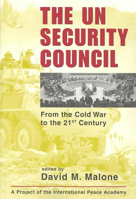 The UN Security Council Fro...
