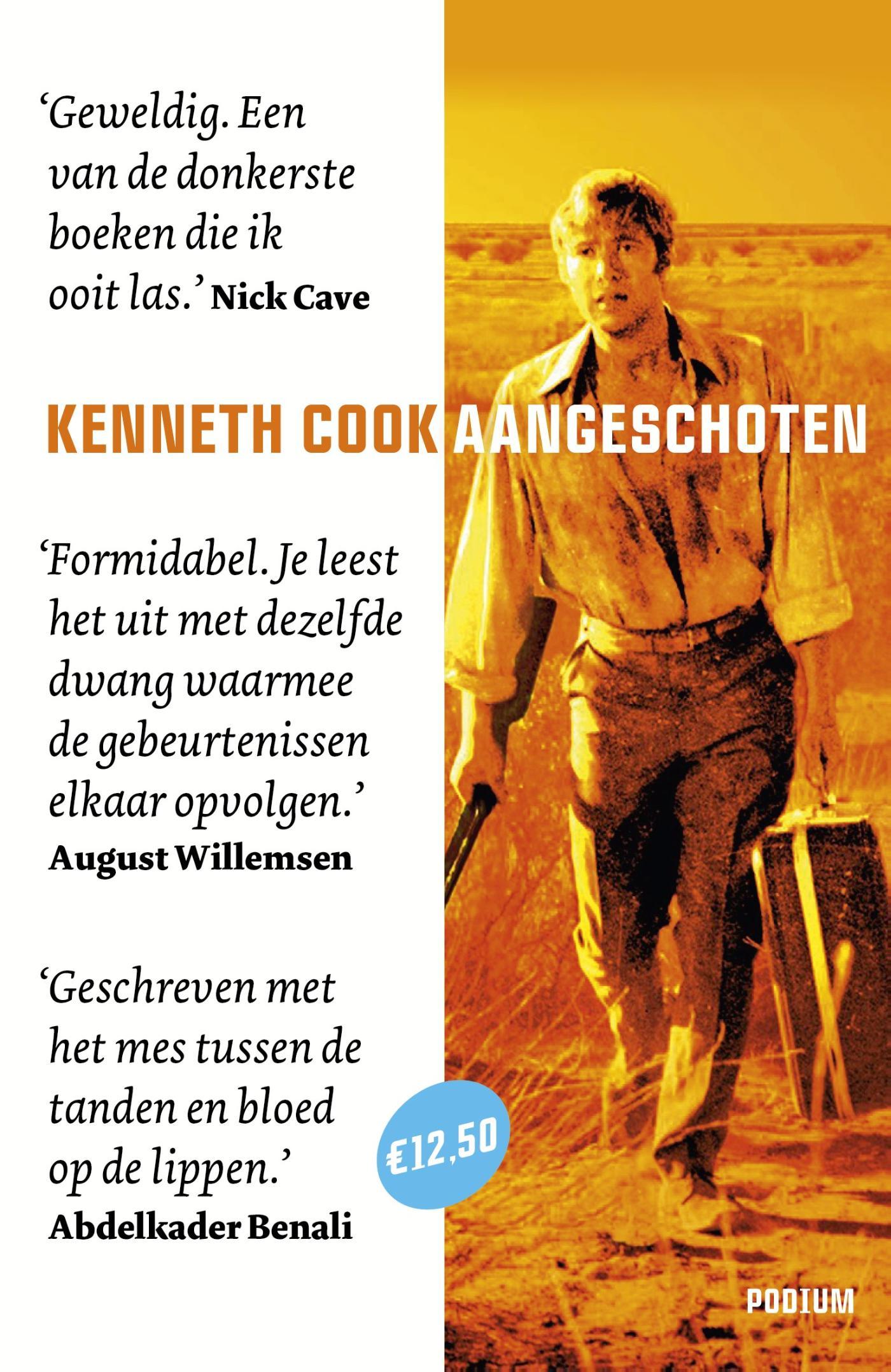 KENNETH Cook - Aangeschoten