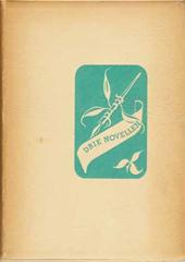 Antoon Coolen, Nederlandsche Boekenweek,  1939, Augusta De Wit, Johan Van der Woude - Drie novellen: geschenk ter gelegenheid van de Nederlandsche Boekenweek 25 Februari tot 4 Maart 1939