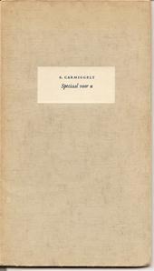 Simon Carmiggelt, Charles Boost (illustraties) - Speciaal voor u - 1960 Een klein feestgeschenk van het Nieuw Utrechts dagblad in 1960