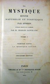 Görres - La Mystique Divine Naturelle et Diabolique