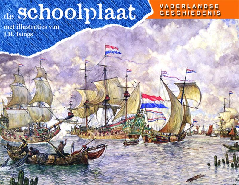 De schoolplaat Vaderlandse ...