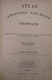 J. Groenland, Moritz Willkomm - Atlas d'histoire naturelle végétaux