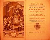 RELATION de l`Inauguration ...