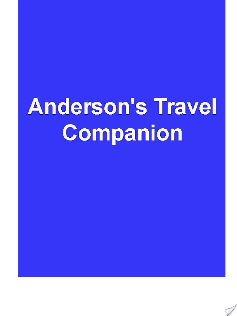 Anderson?s Travel Companion