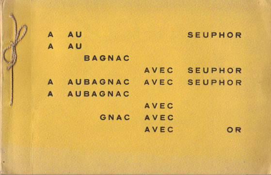 A Aubagnac avec Seuphor.
