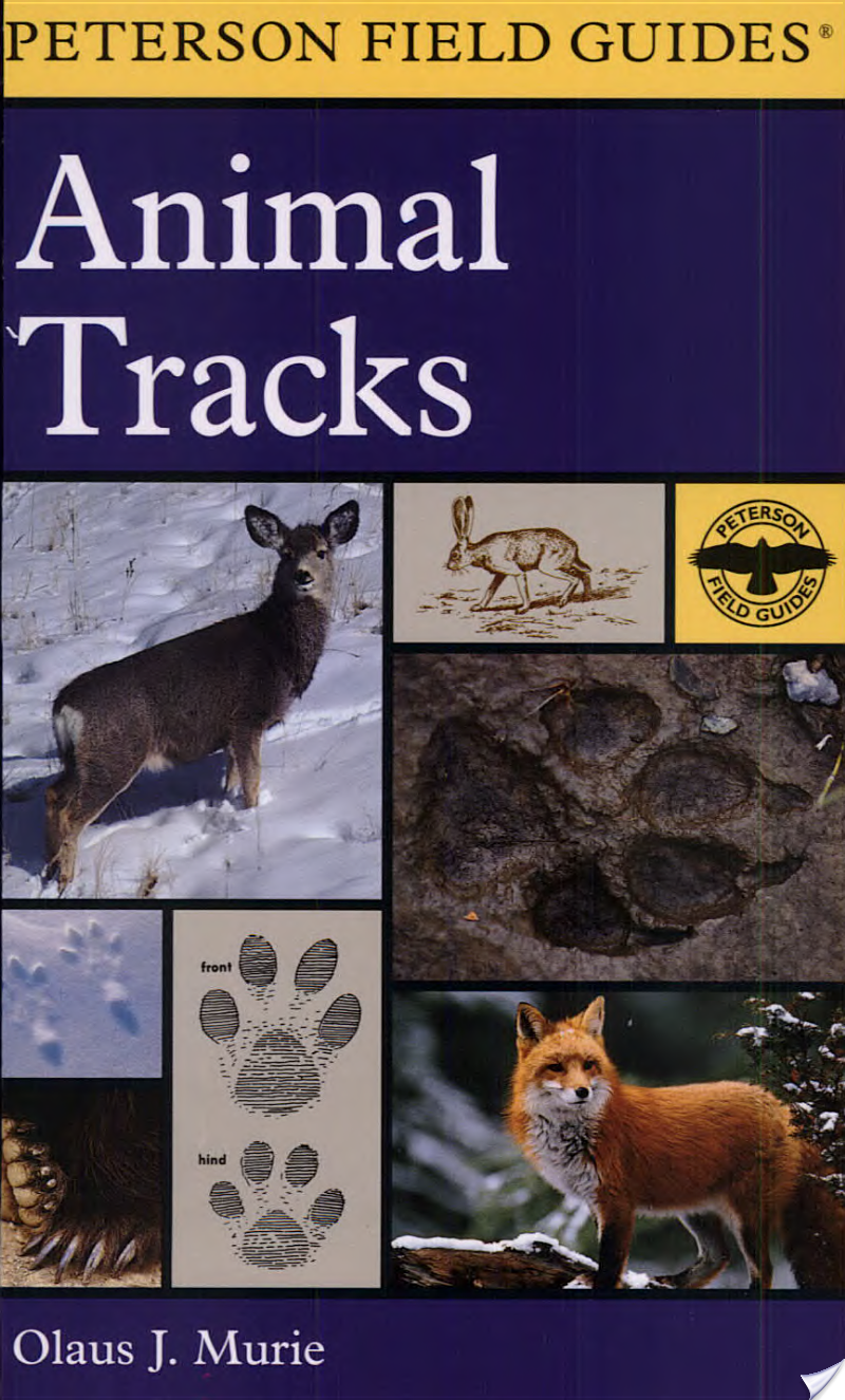 OLAUS J. MURIE - A Field Guide to Animal Tracks