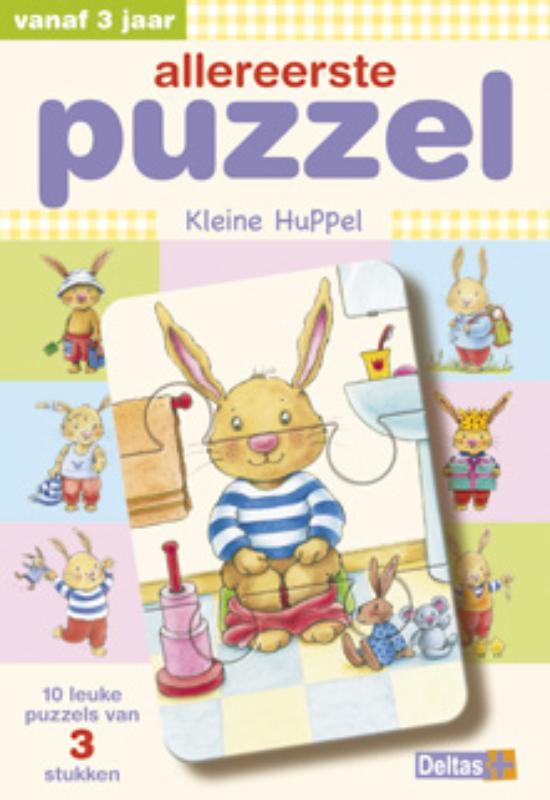 - Allereerste puzzel Kleine Huppel vanaf 3 jaar