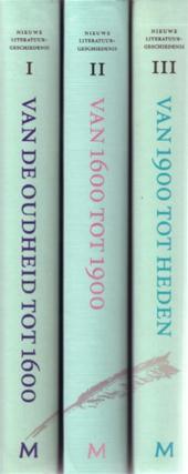 Siem Bakker, Annick Benoit-dusausoy, Hugo e.a. ( redactie) Bousset - [ 3 delen. ]Nieuwe literatuurgeschiedenis. Overzicht van de Europese letteren van  Homerus tot heden overzicht van de Europese letteren van Homerus tot heden