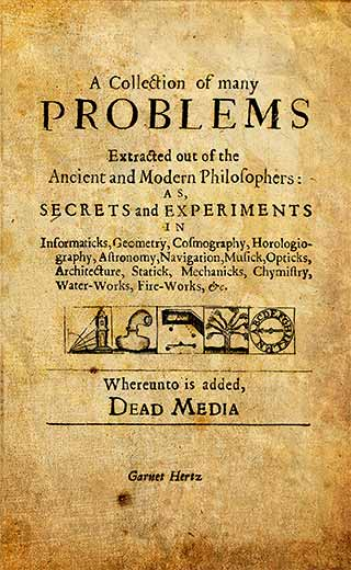Garnet Hertz - A Collection of Many Problems Extracted Out of the Ancient and Modern Philosophers