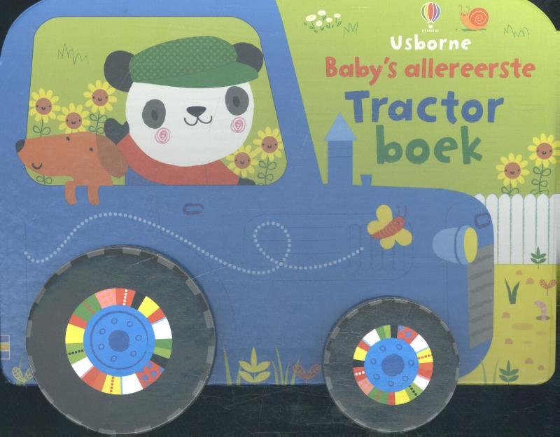 Baby's allereerste tractor ...