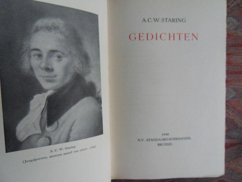 A.C.W. Staring - Gedichten