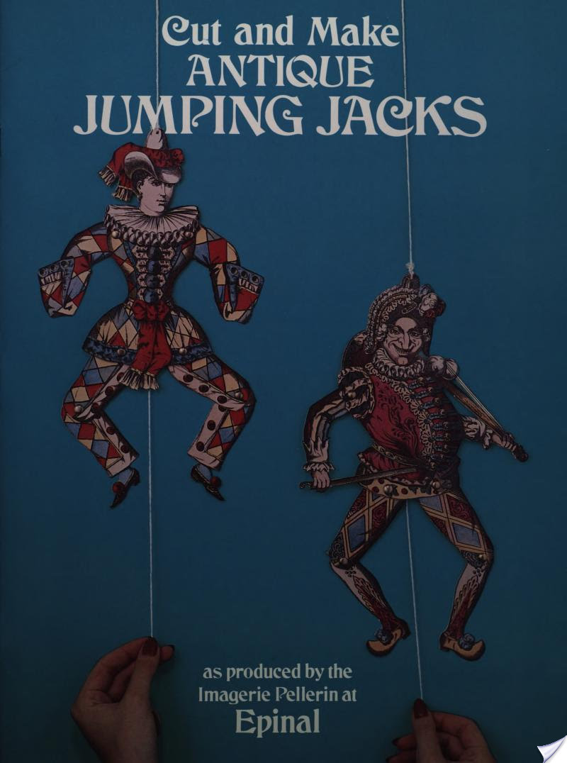 Imagerie Pellerin (Epinal, France),  Epinal - Antique French Jumping Jacks