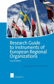 Eggermont, Frederic,  Smis, Stefaan - Research Guide to Instruments of European Regional Organizations