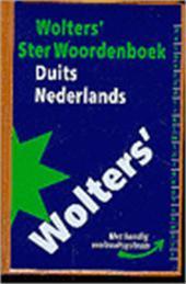 F.R. Bos - Wolters' ster woordenboek / Duits-Nederlands