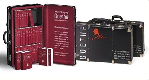 Johann Wolfgang Goethe - Sämtliche Werke in 33 Bänden