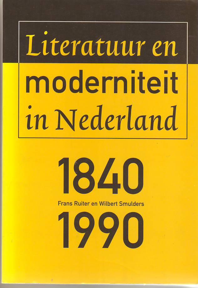 Literatuur en moderniteit i...